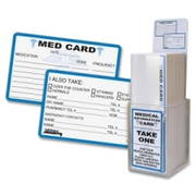 Tabbies Medical Information Card