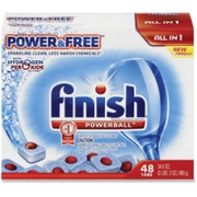 Finish Powder Free Dishwasher Tabs