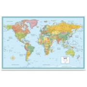 Rand McNally World Wall Map - 1