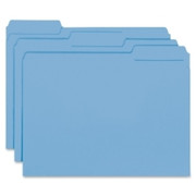 Smead 10239 Blue Interior File Folders
