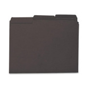 Smead 10243 Black Interior File Folders
