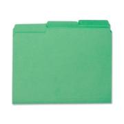 Smead 10247 Green Interior File Folders