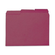 Smead 10275 Maroon Interior File Folders