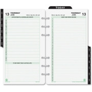 Day-Timer 2 Pages Daily Planner Refill