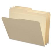 Smead 10326 Manila File Folders with Reinforced Tab