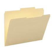 Smead 10376 Manila File Folders with Reinforced Tab
