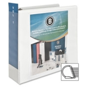 Business Source Slanted Ring Presentation Binder - 3