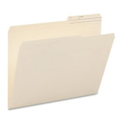 Smead 10388 Manila File Folders with Reinforced Tab