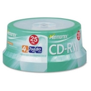 Memorex 4x CD-RW Media