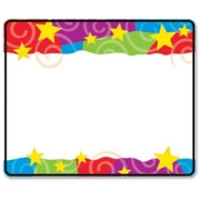 Trend Stars & Swirls Name Tag