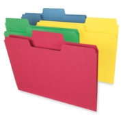 Smead 11988 Assortment Colored SuperTab File Folders with Oversized Tab