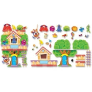 Trend Furry Friends Clubhouse Bulletin Board Set