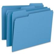 Smead 12043 Blue Colored File Folders