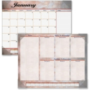 At-A-Glance Marble Look Desk Pad Calendar