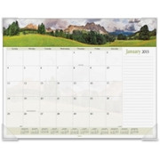 At-A-Glance Panoramic Landscape Desk Pad Calendar