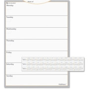 MeadWestvaco Wallmates Dry Erase Planning Surface - 1