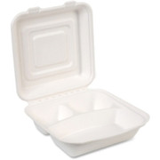 Dixie EcoSmart 3-compartment Food Container