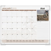 At-A-Glance Inspirational Monthly Desk Pad Calendar