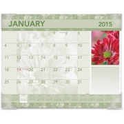 At-A-Glance Antique Floral Desk Pad Calendar