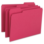 Smead 12743 Red Colored File Folders