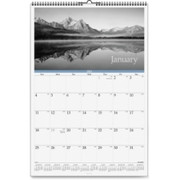 At-A-Glance Dayminder Black and White Monthly Wall Calendar