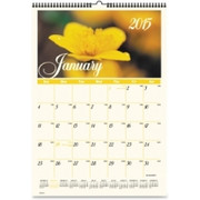 At-A-Glance Flower Garden Monthly Wall Calendar