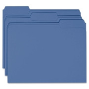 Smead 13193 Navy Blue Colored File Folders