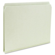 Smead 13200 Gray/Green Pressboard File Folders