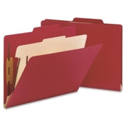 Smead 13703 Red Classification File Folders