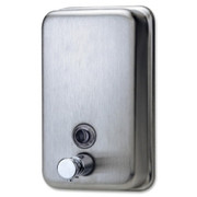 Genuine Joe Stainless Steel Soap Dispenser