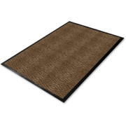 Genuine Joe Dual Rib Carpet Floor Mat - 1
