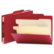 Smead 14003 Red Classification File Folders