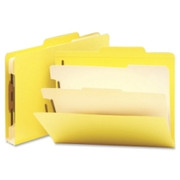 Smead 14004 Yellow Classification File Folders