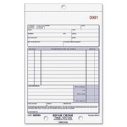 Rediform 3-pt Carbonless Repair Order Book