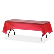 Genuine Joe Rectangular Table Cover - 1