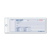 Rediform Monthly Carbonless Receipt Manifold Book