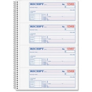 Adams Wire Bound Money/Rent Receipt Books - 2