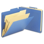 Smead 14045 Blue Poly Classification Folders