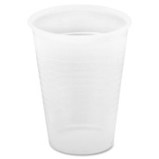 Genuine Joe Translucent Plastic Beverage Cup - 1
