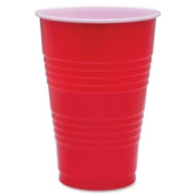 Genuine Joe Plastic Party Cup - 1