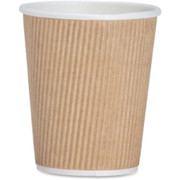 Genuine Joe Ripple Hot Cups - 3