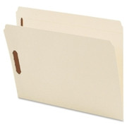 Smead 14513 Manila Fastener File Folders with Reinforced Tab