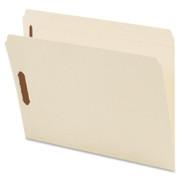 Smead 14513 Manila Fastener File Folders with Reinforced Tab