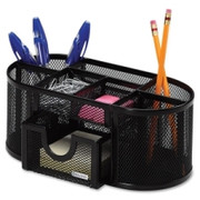 Rolodex Mesh Oval Pencil Cup