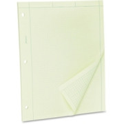 TOPS Green Tint Engineer's Quadrille Pad