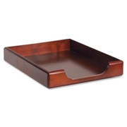 Rolodex Wood Tones Front-Loading Tray