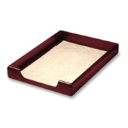 Rolodex Wood Tones Front Load Legal Tray