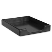 Rolodex Wood Tones Front-Loading Tray - 1