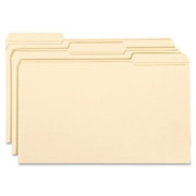Smead 15334 Manila File Folders with Reinforced Tab