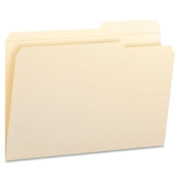 Smead 15386 Manila File Folders with Reinforced Tab